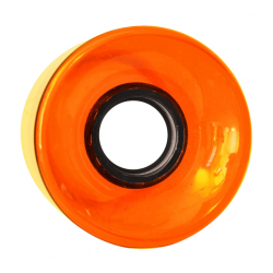 ROUES NAKED CRUISER 60MM 83A - ORANGE CLEAR