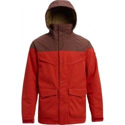 VESTE BURTON BREACH ISOLANTE - BITTERS CHESTNUT WAXED