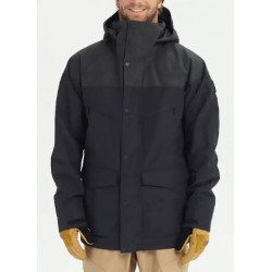 VESTE BURTON BREACH ISOLANTE - TRUE BLACK/TRUE BLACK WAX