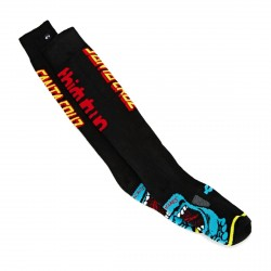 CHAUSSETTES SNOW THIRTYTWO 32 SCREAMING HAND SOCK - BLACK