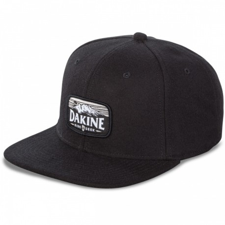 CASQUETTE DAKINE RIDE & SEEK BALLCAP - BLACK
