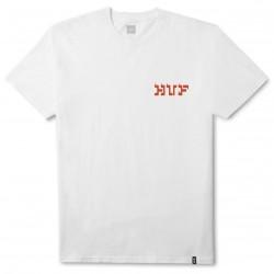 T-SHIRT HUF BURMESE TEE - WHITE
