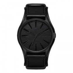 MONTRE NIXON TIME TELLER - BLACK / BLACK ALBUM