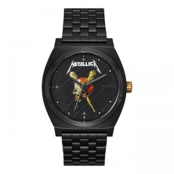 MONTRE NIXON TIME TELLER - BLACK / PUSHEAD