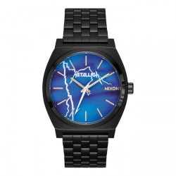 MONTRE NIXON TIME TELLER - BLACK / RIDE THE LIGHTNING
