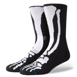 CHAUSSETTE STANCE FOUNDATION BONES 2 - BLACK