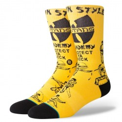 CHAUSSETTE STANCE ANTHEM PROTECT YA NECK - YELLOW