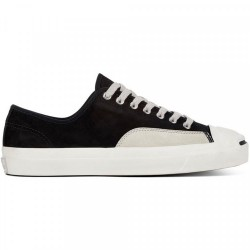 CHAUSSURES CONVERSE JACK PURCELL PRO OX - BLACK PALE GREY VINTAGE WHITE