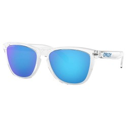 LUNETTES OAKLEY FROGSKINS - CRYSTAL CLEAR PRIZM SAPPHIRE