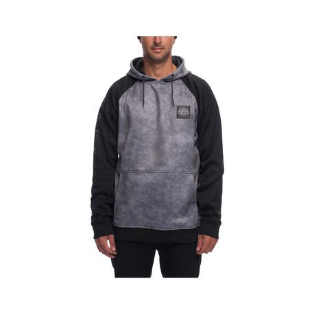 SWEAT 686 KNOCKOUT BONDED FLEECE - CHARCOAL WASH