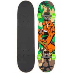 BOARD COMPLETE SANTA CRUZ KID SCREAMING HAND CAMO 6.75
