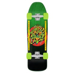 CRUISER SANTA CRUZ TMNT TURTLE POWER - 9.35 X 31.7