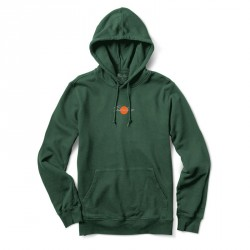 SWEAT PRIMITIVE GINZA HOOD - DARK GREEN