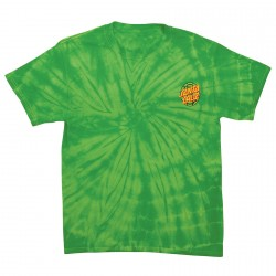 T-SHIRT SANTA CRUZ TMNT TURTLE POWER - SPIDER LIME