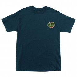 T-SHIRT SANTA CRUZ TMNT SEWER DOT HARBOR - BLUE NAVY