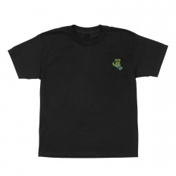 T-SHIRT SANTA CRUZ TMNT TURTLE HAND - BLACK BLUE