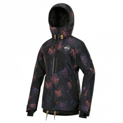 VESTE PICTURE ORGANIC MILK JACKET WMN - FLOWER PRINT