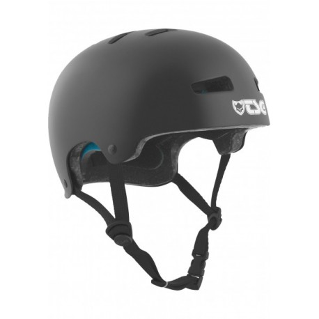 CASQUE TSG EVOLUTION YOUTH SOLID COLOR - SATIN BLACK