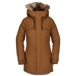 VESTE VOLCOM SHADOW INSULATED JACKET - COPPER