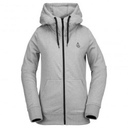 SWEAT VOLCOM CASCARA FLEECE - HEATHER GREY