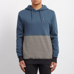SWEAT VOLCOM THREEZY HOOD - NAVY GREEN