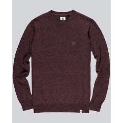 PULL ELEMENT CREW JUMPER - NAPA RED