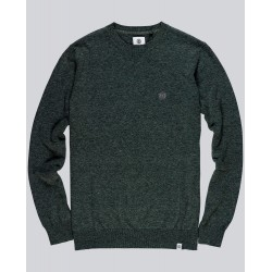 PULL ELEMENT CREW JUMPER - DARK SPRUCE