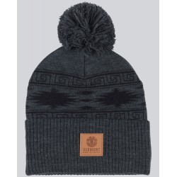 BONNET ELEMENT DUSK POM 2 BEANIE - CHARCOAL HEATHER