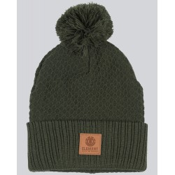 BONNET ELEMENT DUSK POM 2 BEANIE - OLIVE DRAB