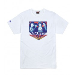 T-SHIRT TEALER X STRANGER THINGS PALACE - WHITE