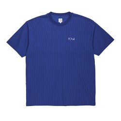T-SHIRT POLAR SKATE CO VERTICAL STRIPE - DARK BLUE