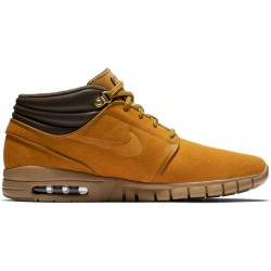 CHAUSSURES NIKE SB JANOSKI MAX MID PREMIUM - BRONZE GUM LIGHT BROWN