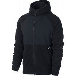SWEAT NIKE SB THERMA HOOD ZIP - BLACK BLACK