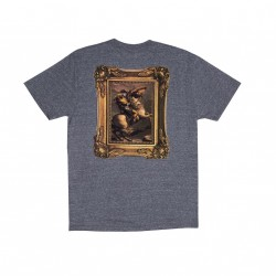 T-SHIRT RIPNDIP STEED TEE - HEATHER GREY