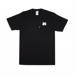 T-SHIRT RIPNDIP LORD NERMAL POCKET TEE - BLACK