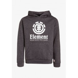 SWEAT ELEMENT VERTICAL HOOD BOY - CHARCOAL HEATHER