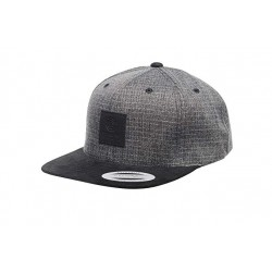 CASQUETTE ELEMENT STATE 2 CAP - BLACK GRID HEATHER