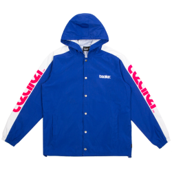 VESTE TEALER COACH JACKET INFERNO - BLUE