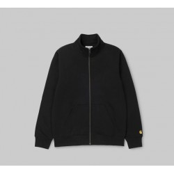 SWEAT CARHARTT WIP CHASE NECK JACKET - BLACK GOLD