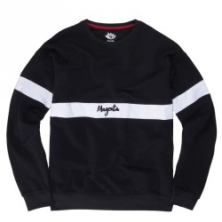 SWEAT MAGENTA 96 CREW - BLACK