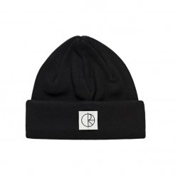 BONNET POLAR SKATE CO DOUBLE FOLD COTTON - BLACK