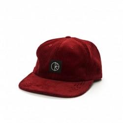 CASQUETTE POLAR CORDUROY CAP - RED