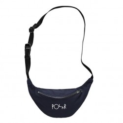 SACOCHE POLAR SKATE CO HIP BAG SCRIPT LOGO - NAVY