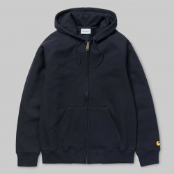 SWEAT CARHARTT WIP CHASE JACKET - DARK NAVY GOLD
