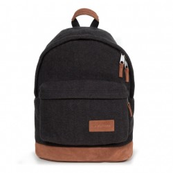 SAC A DOS EASTPAK WYOMING 77U FLEATHER BLACK