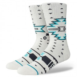 CHAUSSETTES STANCE FOUNDATION LECKEY - WHITE