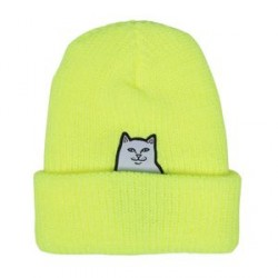 BONNET RIPNDIP LORD NERMAL RIBB BEANIE - YELLOW