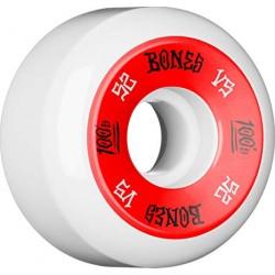 ROUES BONES 100'S V5 WHITE - 52MM