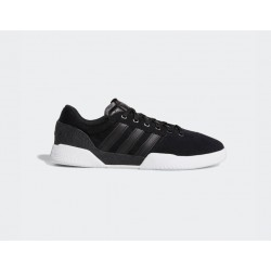 CHAUSSURES ADIDAS CITY CUP - BLACK BLACK WHITE