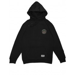 SWEAT JACKER SOCIAL CLUB HOODIE - BLACK